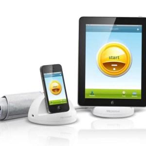 Апарат за измерване на кръвно налягане с анализиращ модул за iPhone® или iPod touch® - Medisana iHealth, Германия-1