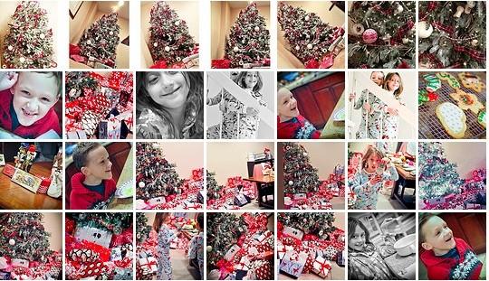 Red and White Plaid Tartan Christmas