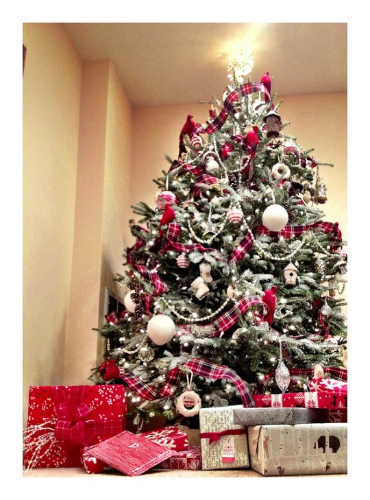 Tartan Christmas Tree