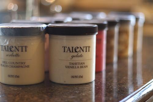 Talenti Sorbet and Gelato
