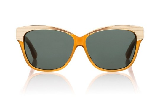 Tory Burch Metallic Rimmed Sunglasses
