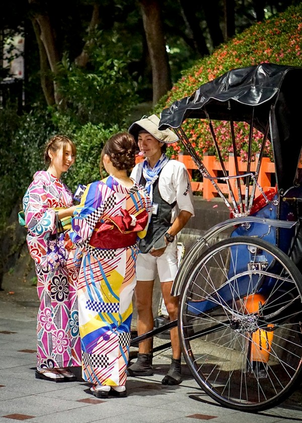This is an unstaged photo - Just everyday life in Kyoto, Japan