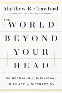 The cover of Crawford's The World Beyond Your Head