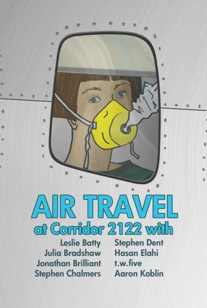 Air Travel postcard