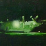 aircraft#2, 2011, oil on canvas