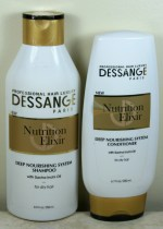DESSANGE Professional Hair Nutrition Elixir Shampoo & Conditioner