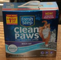 Fresh Step Clean Paws Keeps Paws and Floors Clean Plus Giveaway