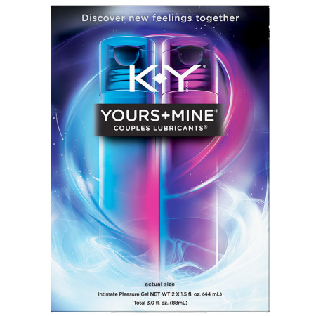 Spice Up The Bedroom With K-Y Yours+Mine Couples Lubricant