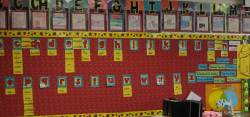 Plush Our Obviously Y Generate All Yellow Were Words Brainstormed By My Students Is Anorpart My Spanish Word Wallsince Word Wall Linky Party Step Into Grade Words