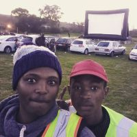 Inspired by the largest inflatable screen in South Africa, Khayelitsha Bin Cleaning Project raises funds for the first outdoor movie screening Ekasi