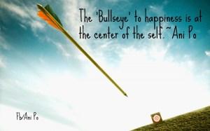 bullseye of happiness