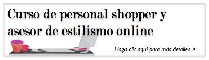 Curso de personal shopper y estilismo online