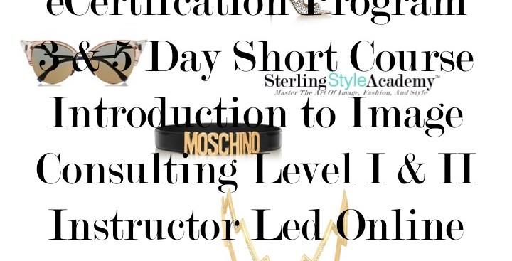 how to become an image consultant stylist