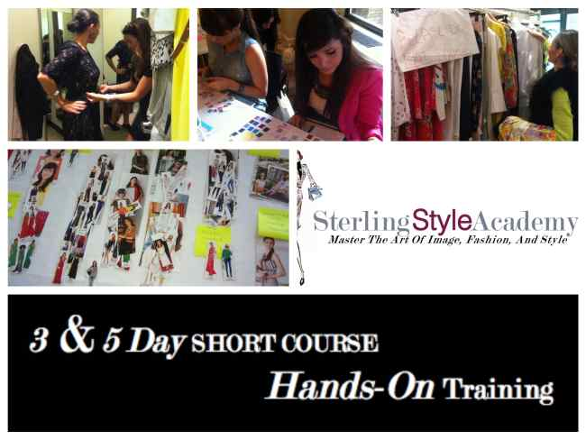3 & 5 Day Short Course Hands On Training | Sterling Style Academy