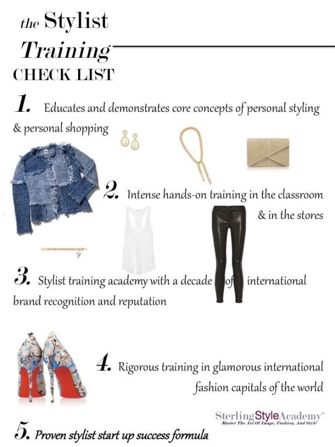 Stylist Training Check List | Sterling Style Academy
