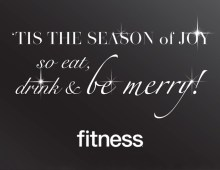 Fitness Magazine Holiday E-Card
