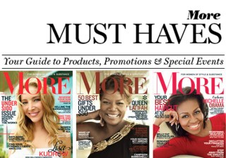 MORE Magazine – MORE MUST HAVES – thumbnail – Heather Sears – Steven Chu