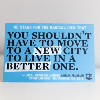 Branding: Local Progress
