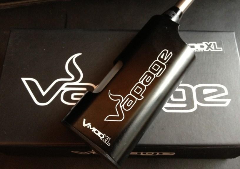 V-MOD XL Review juice fed ecig by vapage title image