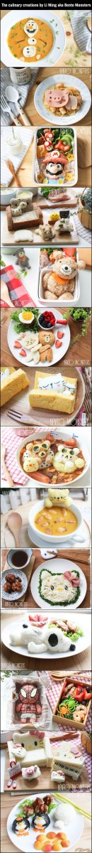 Adorable Culinary Creations By Li Ming