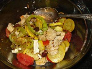 Chicken and Squash stir fry