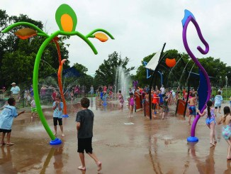 Boomer Lake Splash Pad is Open for Business everyday 10am-8pm!