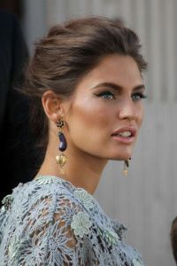 PORTOFINO, ITALY - OCTOBER 21:  Bianca Balti sighting on the set of a Dolce & Gabbana commercial on October 21, 2011 in Portofino, Italy.  (Photo by Jacopo Raule/Getty Images)