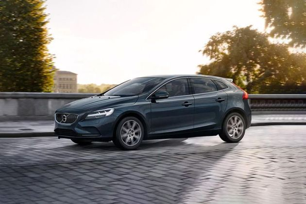 Volvo V40 Price   Images  Review  Mileage   Specs Volvo V40 Front Left Side Image