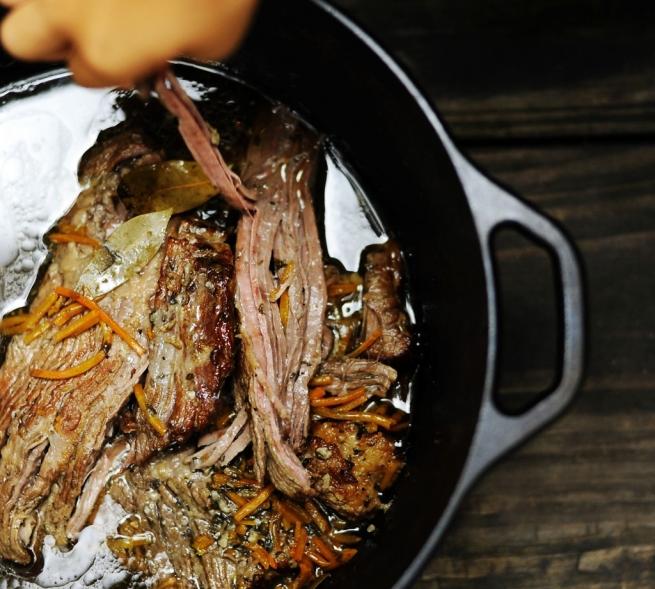 Paleo Basic Beef Brisket in a Dutch Oven