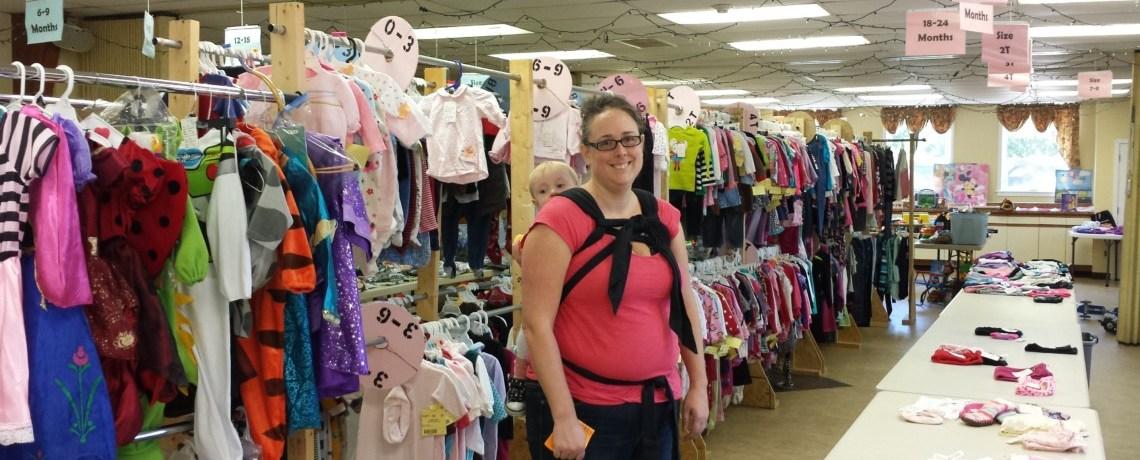 St. James' Preschool's Outgrown Sale