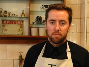 James George at work