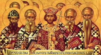 Fathers of the Nicean Council