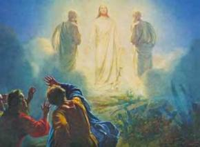 The Transfiguration of Jesus on the High Mountain