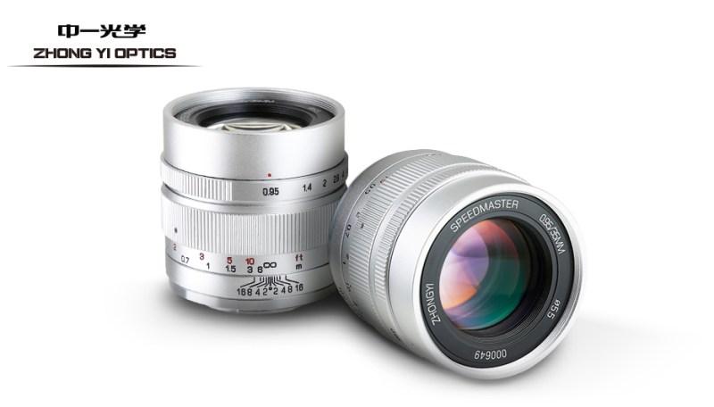 SPEEDMASTER 35mm F0.95 II シルバー登場