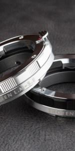 SHOTEN LM-SEはシルバー(左)とブラック(右)の2色展開だ。同ブランドのヘリコイドタイプと同テイストのデザインだ。