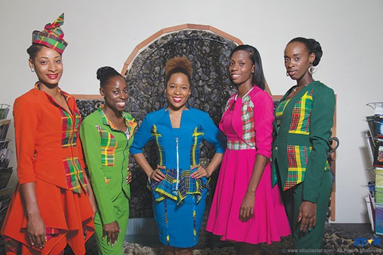 The Mizik Mele Mélange contestants visited the STAR Friday and brightened up the place with their presence.