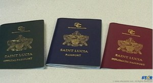 St. Lucia Passports.