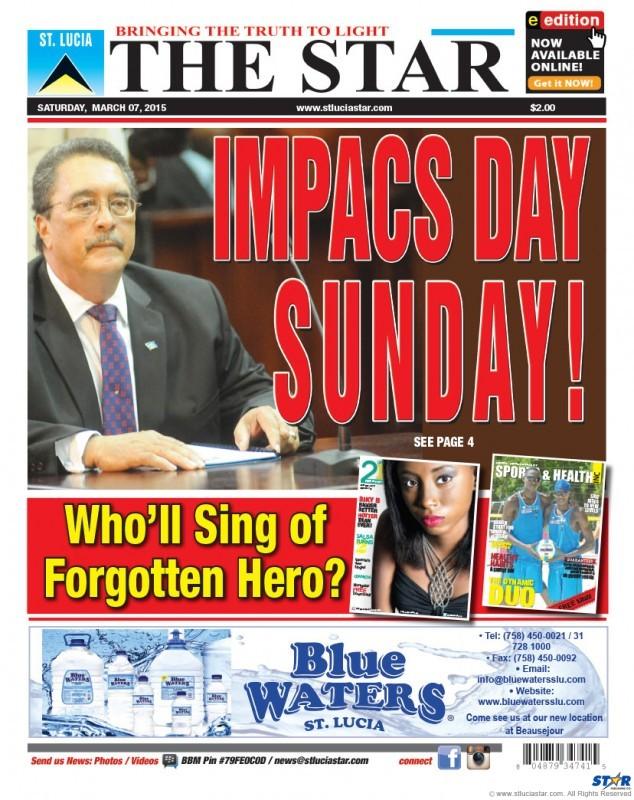Star Newspaper 7th March 2015