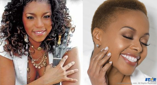 Red hot Soca Star Destra Garcia & Chrisette Michele for Jazz and Arts 2015.