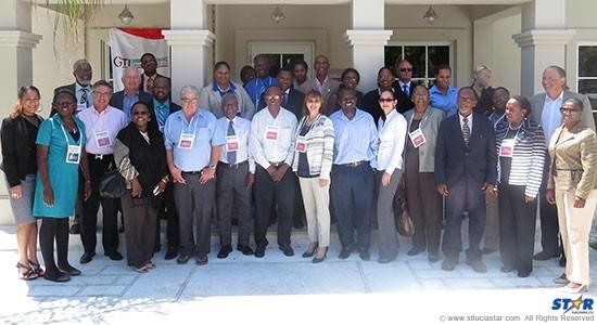 Participants at Turks & Caicos training.