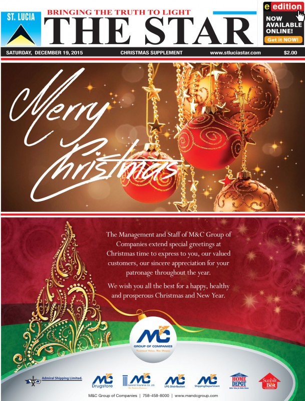 The STAR Newspaper Christmas Supplement - Saturday December 19th, 2015