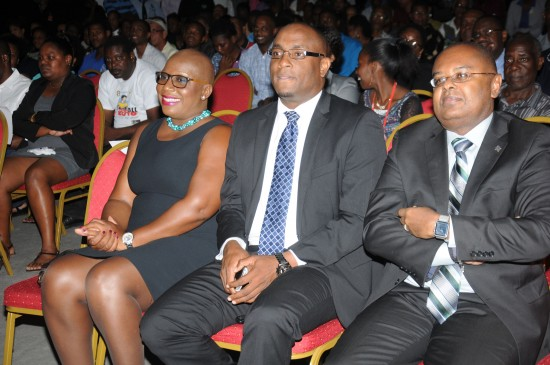 Government officials including Opposition Leader Gale Rigobert, Sports Minister Shawn Edwards and Senator James Fletcher were among the guests at Monday's tribute.