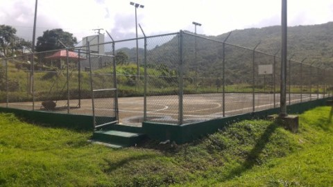 The completed Jacmel multi purpose facility