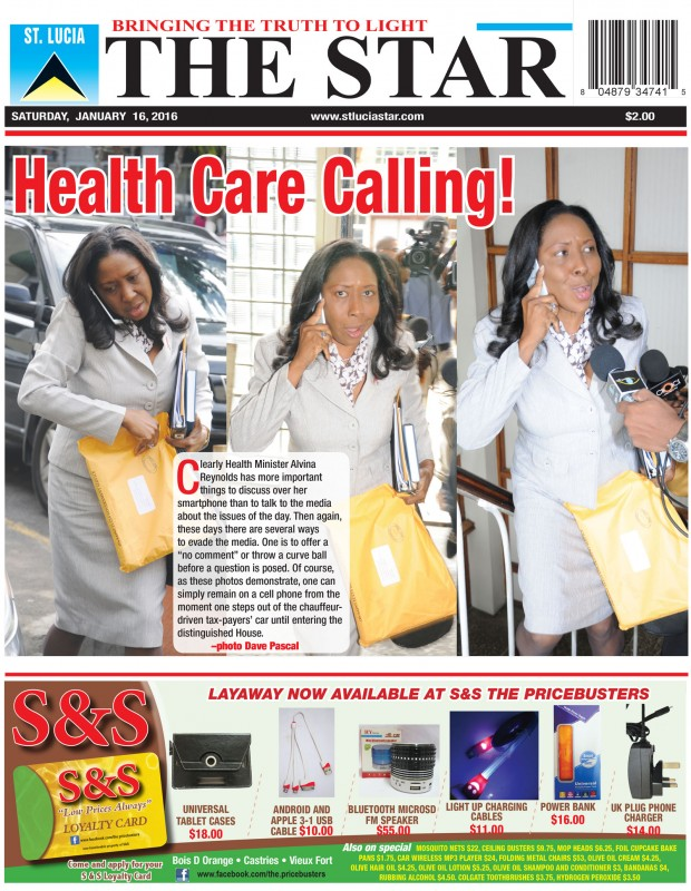 The STAR Newspaper Saturday January 16th, 2016 - Image of the Week