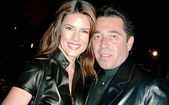 Walid Juffali with his former wife Christina Estrada at the Cannes Film Festival in 2001 Photo: Alan Davidson