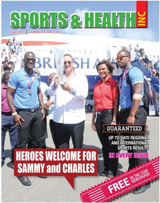 Sports & Health Magazine Inc for Saturday April 9th, 2016 ~ Issue no. 87