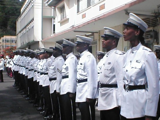 How much longer will Saint Lucia have to wait before its Police Force is allowed to rejoin regional exercises funded by the United States?