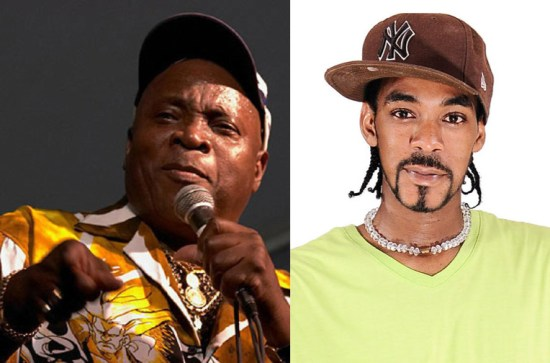 (Left) The Mighty Sparrow for Soca Explosion. (Right) Ricky T will be joined by a host of Soca icons and celebrities for the July 2nd event.
