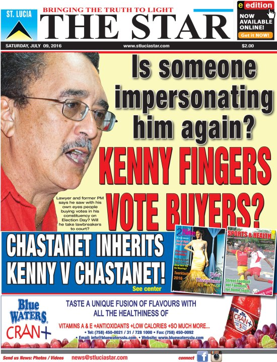 The STAR Newspaper for Saturday July 9th, 2016