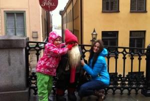 дети на экскурсии по Стогольму
